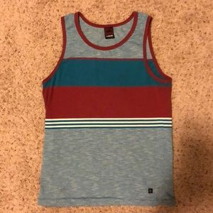 Tony Hawk Multi Colored Tank Top Size Small